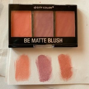 Be Matte Blush Pallet from City Color